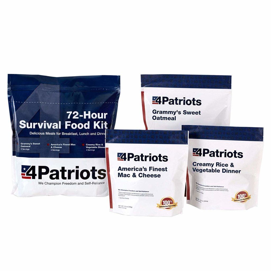emergency survival rations 72 hour food kit dehydrated for your Vehicle BUG-OUT Kit