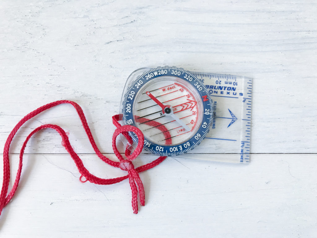 compass tool for direction
