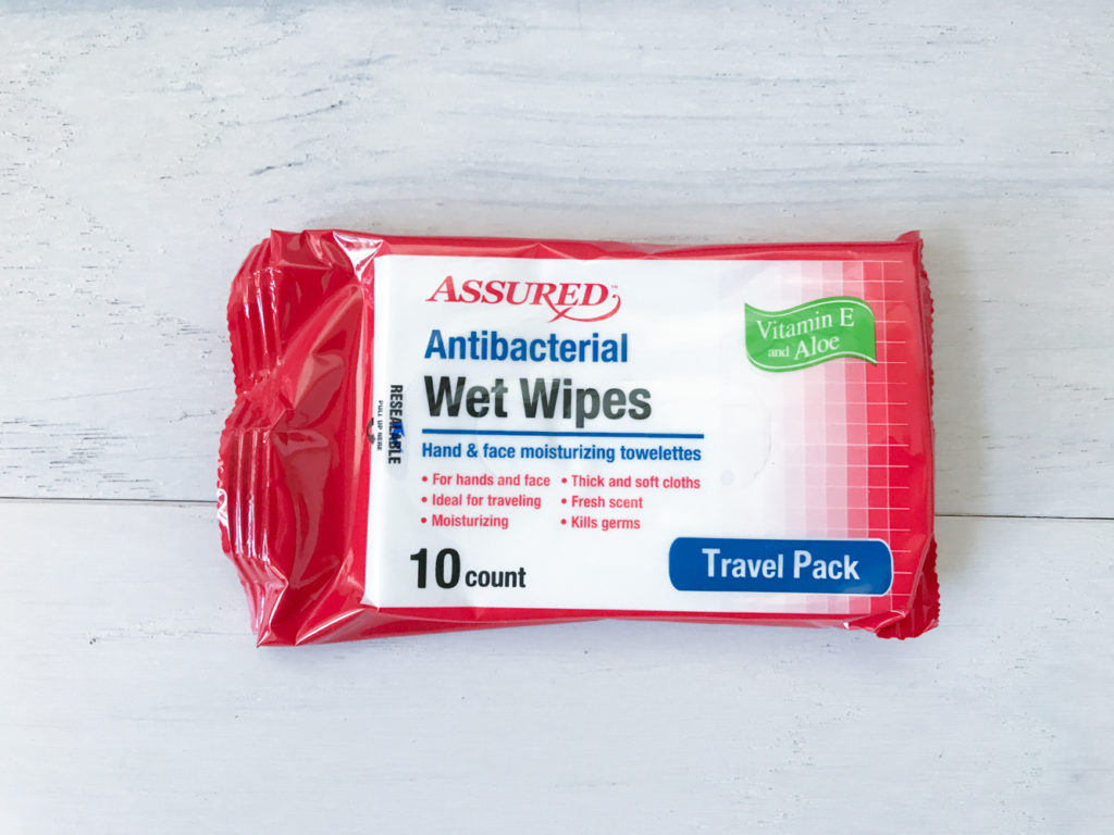 hand wipes antibacterial clean travel for your vehicle kit