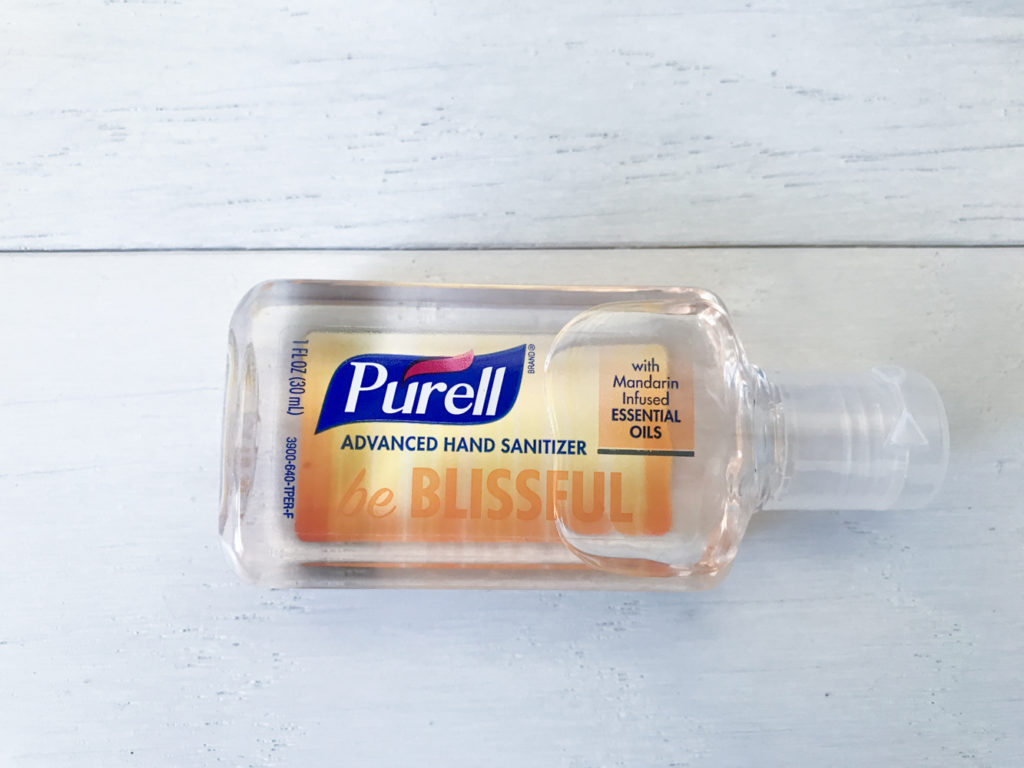 hand sanitizer purell clean antibacterial cleaner to stay clean while you bug-out