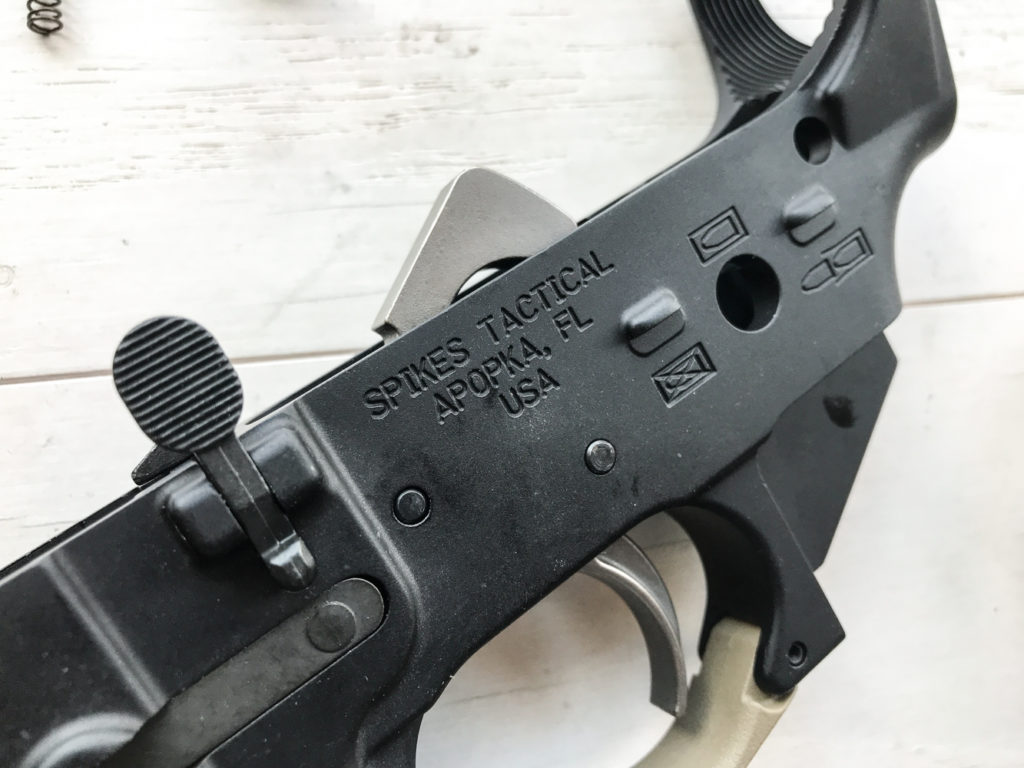 Desert Guardian Lower Receiver Ar-15 Build assembly