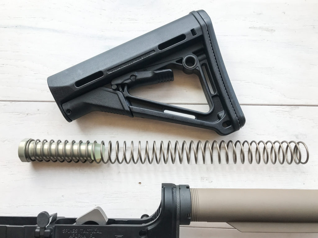 buffer and stock assembly installation ar-15